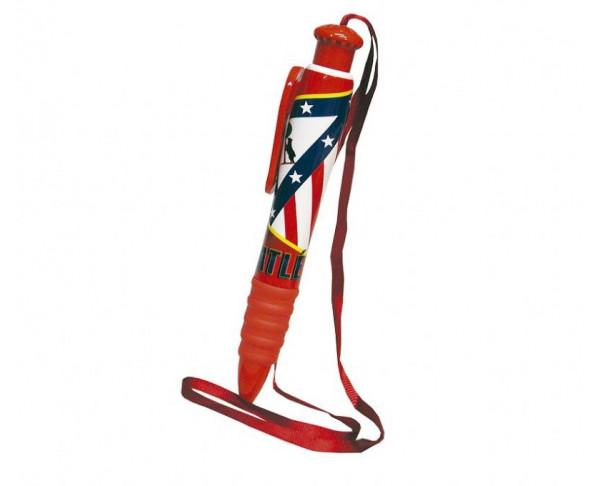 Boligrafo grande Atletico Madrid con cuerda