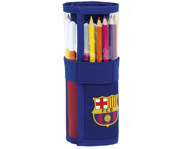 Plumier enrollable del FC Barcelona...
