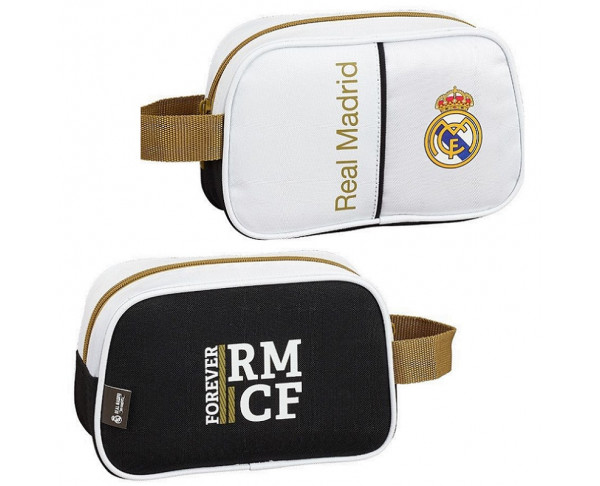 Neceser pequeño Real Madrid con asa...