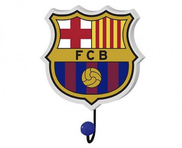 Gancho perchero escudo del FC Barcelona