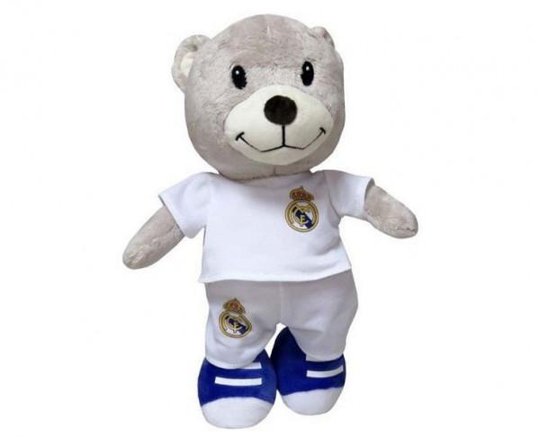 Oso de peluche Real Madrid jugador del Real Madrid