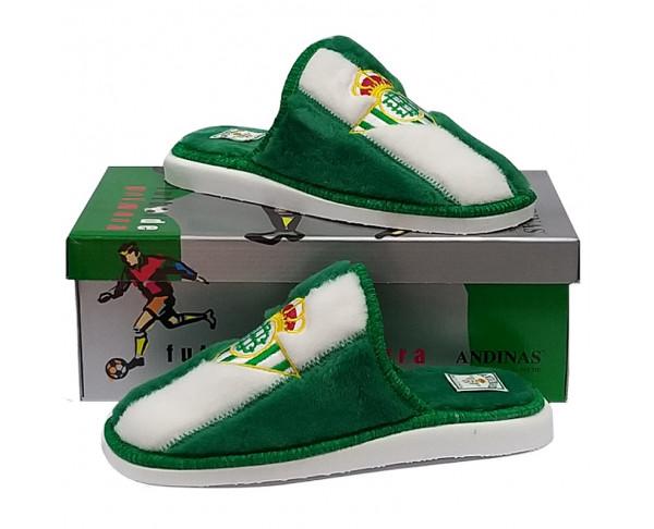 Zapatillas Real Betis peluche de...