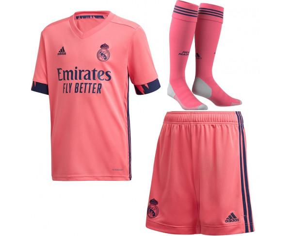 Pack segunda equipación Real Madrid...