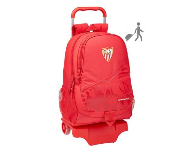 Mochila grande Sevilla FC con carro...