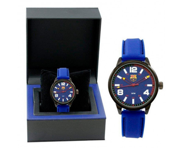 Reloj FC Barcelona analógico azul...