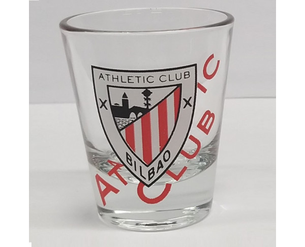Vaso chupito de cristal Athletic Club...