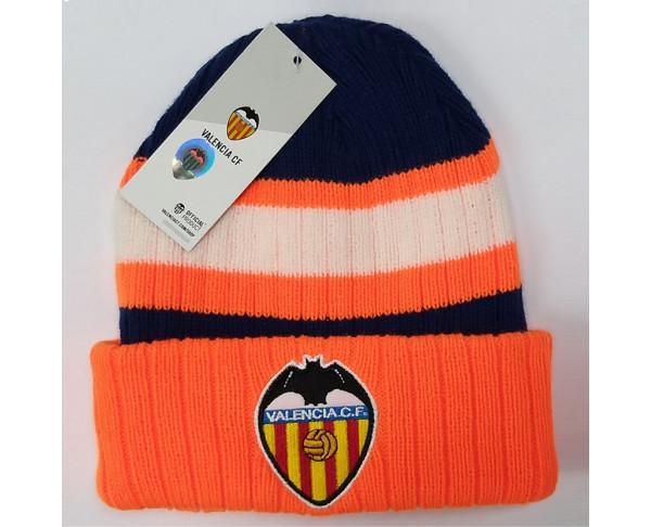 Gorro de lana multicolor naranja...