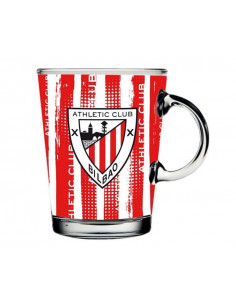 Taza cónica de cristal Athletic Club de Bilbao