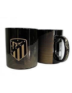 Taza de porcelana Atlético Madrid black Metropolitano
