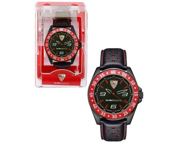 Reloj de pulsera rojo y negro Sevilla...