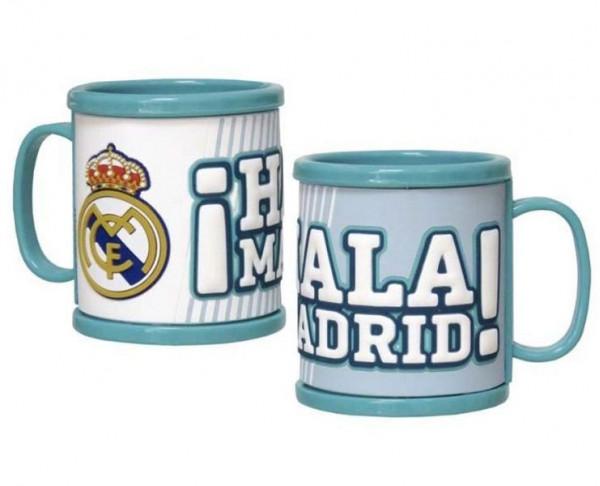 Taza del Real Madrid con relieve 3D Hala Madrid