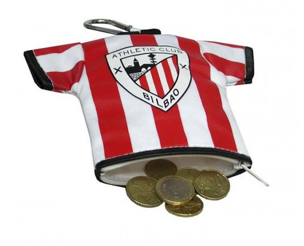 Monedero camiseta del Athletic Club de Bilbao