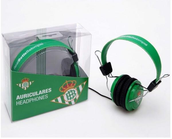 Cascos auriculares del Real Betis