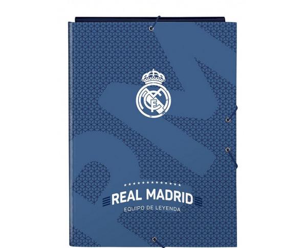 Carpeta tamaño folio Real Madrid...