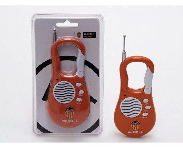 Radio con linterna del Valencia CF