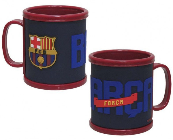 Taza FC Barcelona con relieve 3D