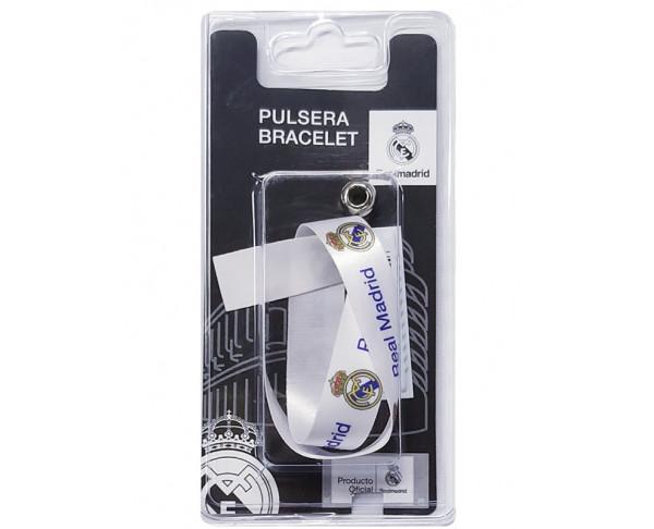 Pulsera de tela Real Madrid escudo...