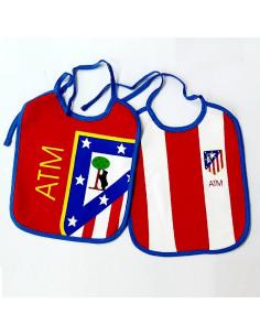 Pack dos baberos Atlético...