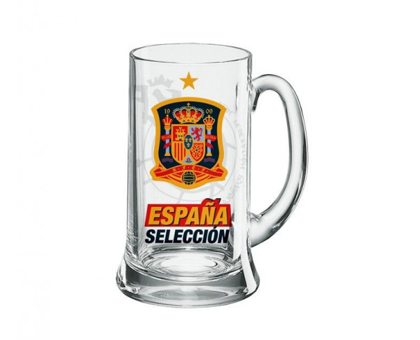 Jarra para cerveza Selección Española Mundial 2020