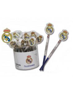 Lapicero Real Madrid con goma de borrar escudo