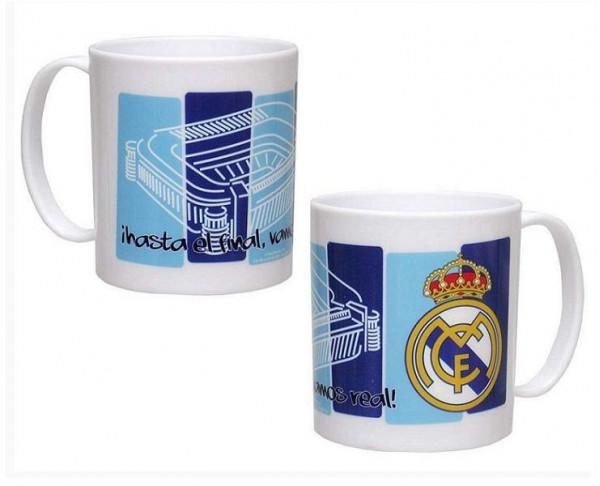 Taza de plástico Oficial Real Madrid Hala Madrid