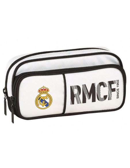 Estuche escolar Real Madrid compartimento doble