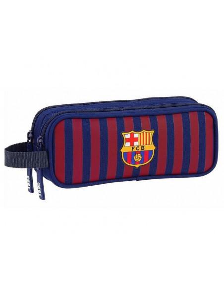 Estuche escolar doble del FC Barcelona