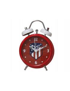 Despertador Atlético de Madrid metálico pequeño