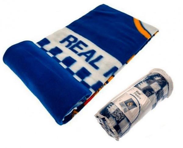 Manta polar de abrigo del Real Madrid Premium