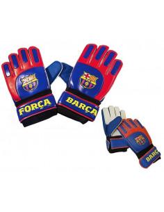 Guantes de portero infantiles del FC Barcelona