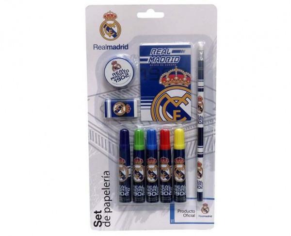 Conjunto infantil Real Madrid accesorios escolares