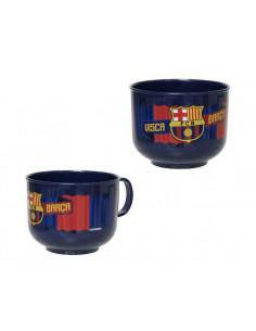 Tazón desayuno FC Barcelona apto microondas