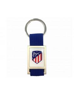 Llavero Atlético de Madrid rectangular azul
