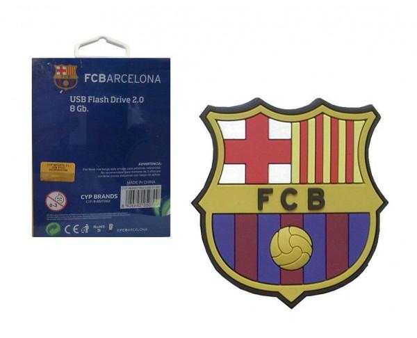 Pendrive escudo FC Barcelona 8 GB USB Flash Drive 2.