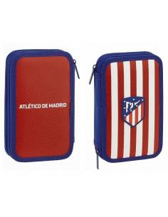 Estuche dos pisos Atlético de Madrid accesorios escolares