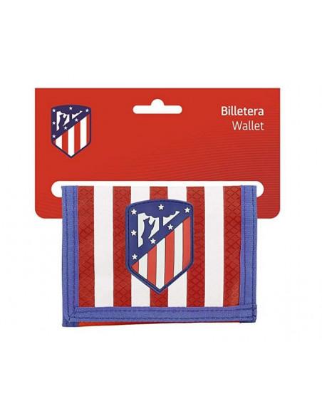 Billetero con monedero Atlético de Madrid escudo nuevo