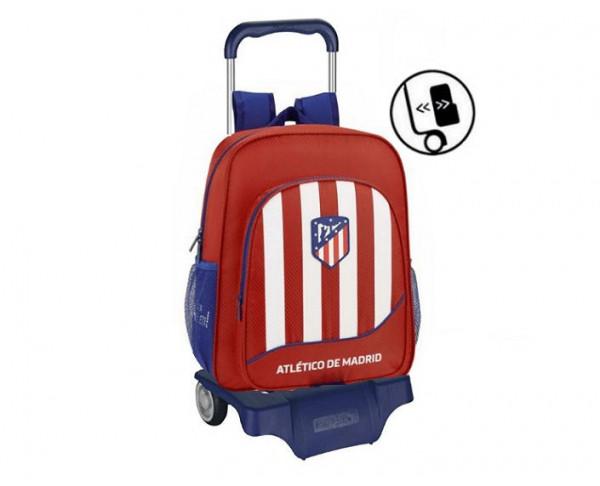 Mochila Junior Atlético de Madrid con carro escolar