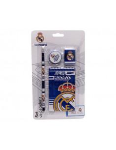 Conjunto escolar de regalo infantil Real Madrid
