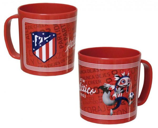 Taza de melamina infantil Atlético de Madrid