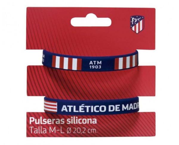 Pulseras de silicona Atlético de Madrid adulto