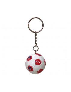 Llavero balón mini Atlético de Madrid