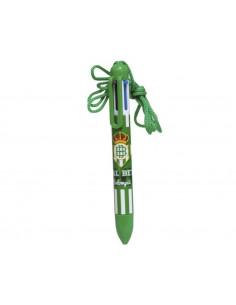 Bolígrafo con seis colores del Real Betis