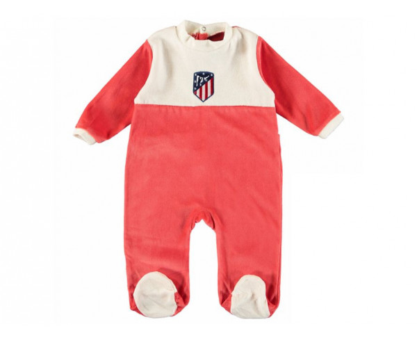 Pelele pijama para bebé Atlético de Madrid