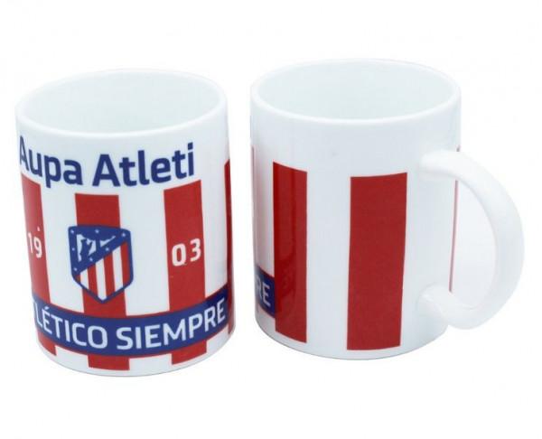 Taza de porcelana Atlético de Madrid Aupa Atleti