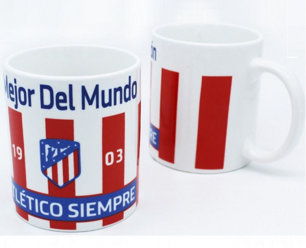 Taza de porcelana Atlético de Madrid...