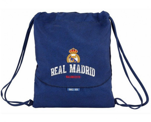 Saco mochila Real Madrid del equipo de balonesto baloncesto