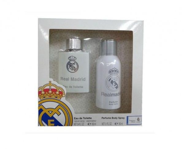 Pack de regalo colonia y desodorante Real Madrid