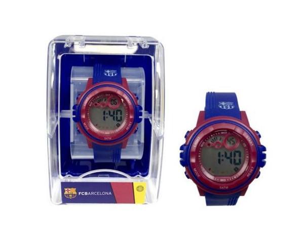 Reloj digital de pulsera FC Barcelona niños pequeños
