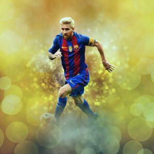 Leo Messi en el FC Barcelona
